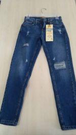 джинсы из хлопка оптом
