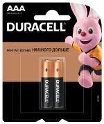 Батарейка Duracell Basic AAA LR03 2BL