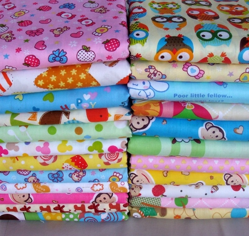 ткань для пошива детских пеленок: Ситец, Фланель, Поплин