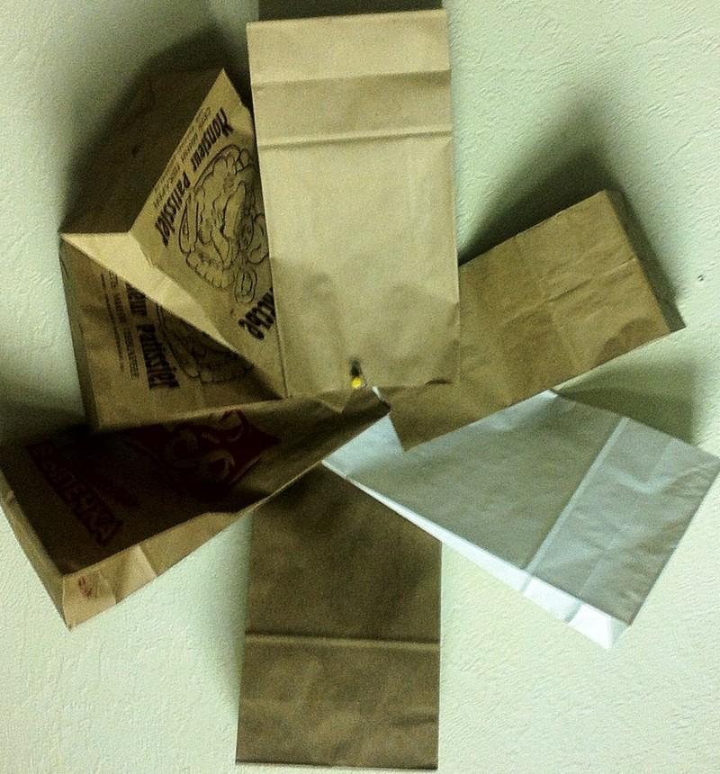 Крафт-пакеты для пищевой продукции.
