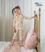 Стильная и удобная детская одежда для дома и сна Южная Корея Olomimi, Giving you flower, жаккард O20S707PG