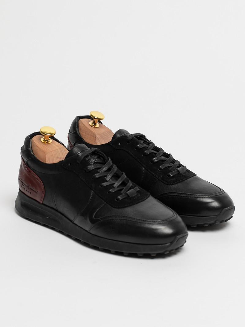 Кожаные мужские кроссовки PHILIPPE ANDERS LONDON