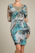 Платье S-twelve D8597-1