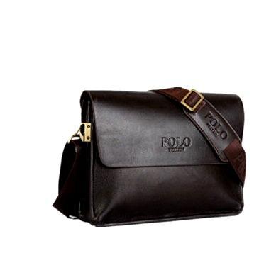 Скидка 400 рублей на Мужскую сумку, Polo Videng, горизонтальная