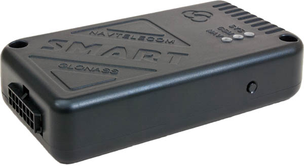 СМАРТ S-2435 — еще одна новинка в линейке автомобильных трекеров СМАРТ. Максимальная функциональность этого устройства делает его бескомпромиссным. А именно: наличие цифровых интерфейсов RS-232 и RS-485, CAN-шина, возможность работы с 2-мя SIM-картами и поддержка протокола MODBUS. Трекер S-2435 MAX, также как и другие модели СМАРТ, имеет долговременную защиту по питанию до 500В и защиту всех 3-х универсальных входных линий от скачков напряжения до 350В. Универсальные входные линии позволяют к любому входу устройства подключать аналоговые или частотные ДУТ, импульсные датчики расхода топлива, кнопки или концевики, изменяя лишь настройки оборудования. Реализованы такие функции как: EcoDriving, фиксация события ДТП по ГОСТ или индексу тяжести ДТП ASI, формирование и отправка файла профиля ДТП на сервер, энергосбережение, охранные функции и многое другое. Устройство СМАРТ S-2435 имеет функцию Bluetooth, что открывает возможность для использования беспроводной гарнитуры для двухсторонней связи с водителем.  Характерные особенности — Контроль состояния транспортного средства, его местоположения и перемещений, а также контроль пробега с учетом рельефа местности; — Контроль расхода и уровня топлива при подключении импульсного, аналогового и цифровых датчиков уровня топлива (RS-485); — Экстренное дистанционное информирование о разбойном нападении на водителя или пассажиров и о других нештатных ситуациях; — Дистанционное управление подключенными устройствами и системами автомобиля, например, сиреной, внешней системой дистанционной блокировки двигателя, дверей и т.д.; — Работа от встроенного аккумулятора до 4-х часов при отключении основного питания или более при использовании режима энергосбережения; — Поддержка гибко настраиваемого протокола FLEX для экономии траффика; — Поддержка протокола EGTS.