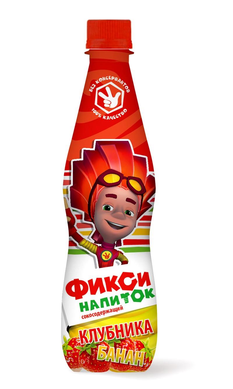 Фиксики!!! Популярные Российские герои на наших напитках!!! 0,4л. ПЭТ