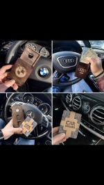 Трендовый товар — деревянный холдер под 3 пластиковые карты оптом