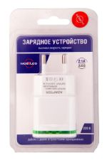 Сетевое зарядное устройство Mobylos 2 USB выхода 30024