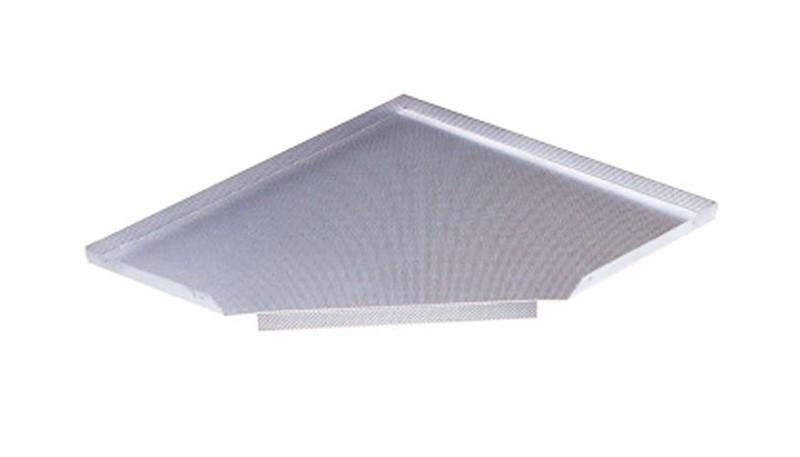 Гигиенический алюминиевый поддон грань 900