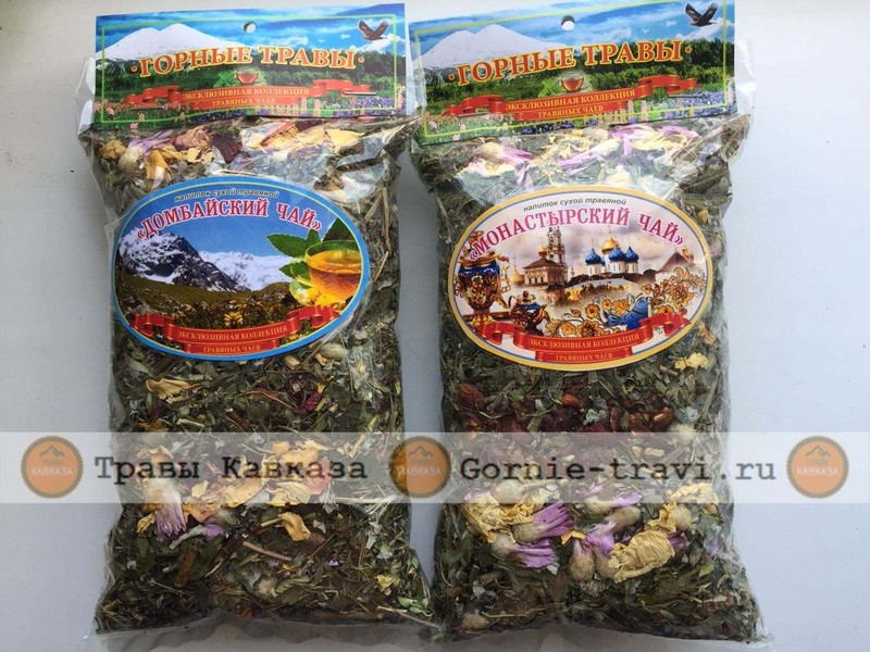 """Травяной чай """"Домбайский чай"""" горный"""