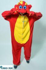 Костюм кигуруми Рубиновый Дракон FUNKY RUBY DRAGON KIGU Dragon-RED-KIGU-FLS-USX
