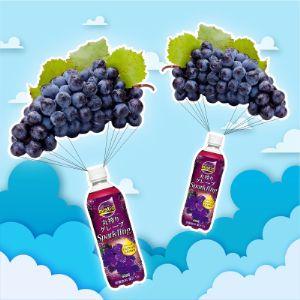 Дайдо Мистио Грейп (Mistio Grape Sparkling) б/а газ. напиток, 500 г.