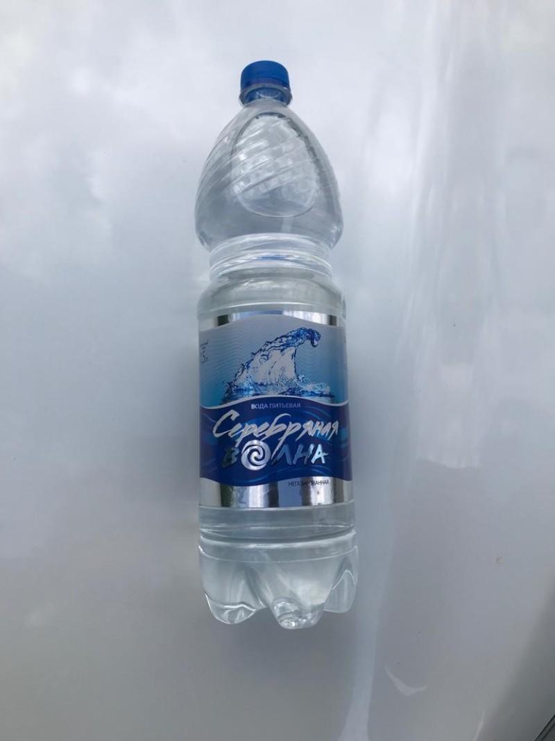 Вода питьевая столовая объем 1,5л