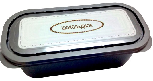 Мороженое весовое в ЛОТКЕ Шоколадное Московское