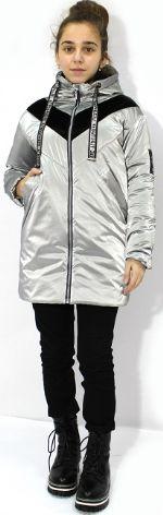 Куртка для девочки удлиненная Evrika М-789 М-789