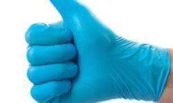 Оптовая продажа нитрил-виниловых перчаток
