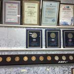 Награды с выставок