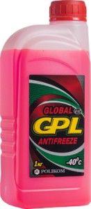 Антифрз Global GPL G12 (красный) Поликом 1 л.