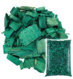 Щепа декоративная зелёная Мульча+