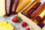 фруктовые сладости и чипсы