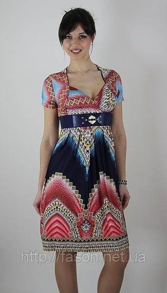 Женское платье, завышенная талия, Studio, 2363. Предлагаем оптовые поставки  женской одежды турецких ... 60f35bfdc33