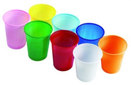 одноразовые стаканчики 200 мл прозрачные и цветные