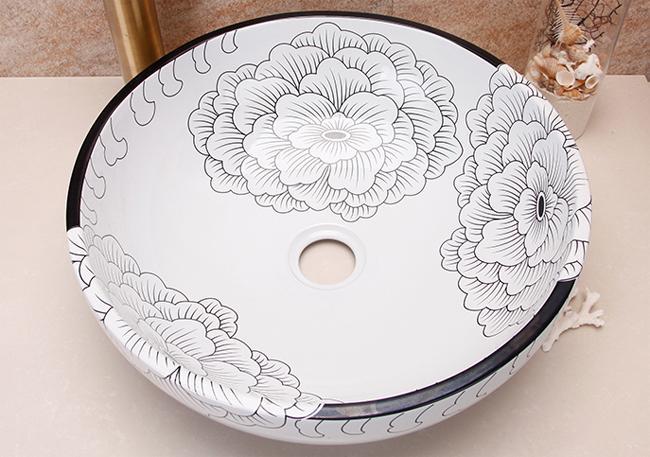 Керамика - образец 4. Керамическая раковина