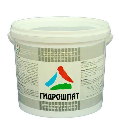 Гидрошпат — гидроизоляционная уретановая шпатлёвка