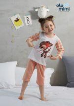 Стильная и удобная детская одежда для дома и сна Южная Корея Olomimi NEW20SS My Dear Friend, жаккард O20S706PG
