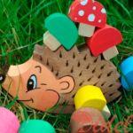 деревянные игрушки и сувениры ручной работы