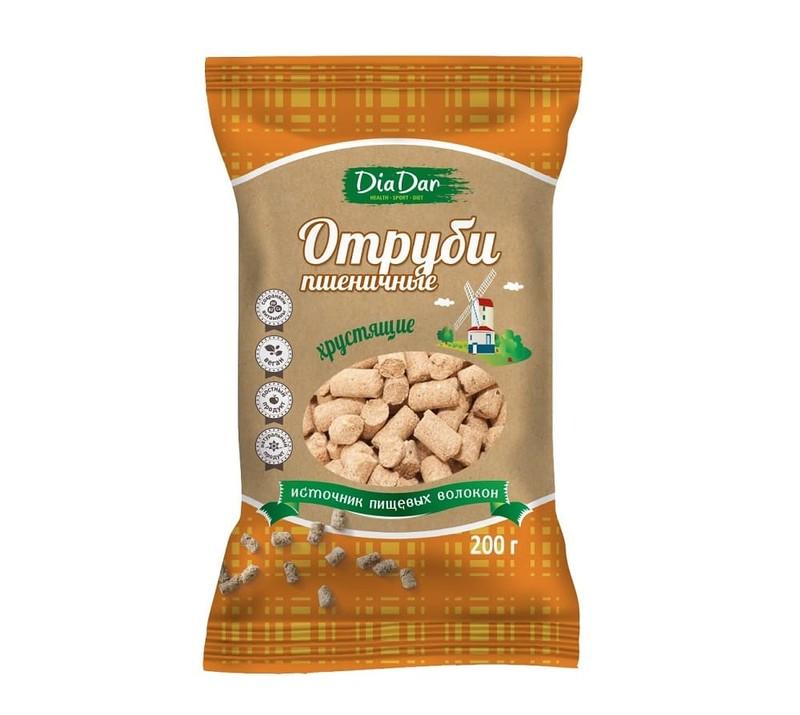 Отруби пшеничные Диадар 200 гр