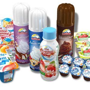 """Молочные продукты """"Alpengurt"""""""