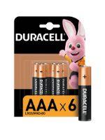 Батарейка Duracell Basic AAA LR03 6BL