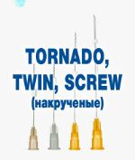 Мезонити скрученные Twin, Tornado, Screw screw-twin-tornado-mesoniti