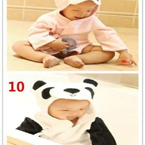 2 эксклюзивные новые варианты.. Недавно введенные в поставку детские ванные халатики
