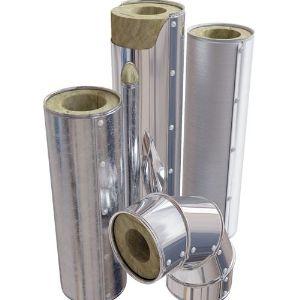 Системы ИЗОЛИН RW METAL. Изоляционные системы «ИЗОЛИН METAL» на основе теплоизоляционных материалов «ИЗОЛИН» с защитным покрытием из различных металлов, представляют собой комплексное решение для теплоизоляции конструкции трубопроводов.