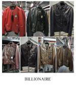 Мужские кожаные куртки BILLIONAIRE