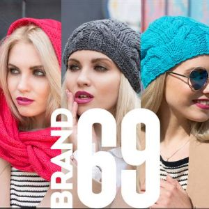 """Модели BRAND 69. Модели новой марки """"BRAND 69"""" выполнены из высококачественного мягкого акрила. В коллекции присутствуют как женские модели, так и модели унисекс. Как на подкладке, так и без.! Цена за изделие от 220 рублей!"""
