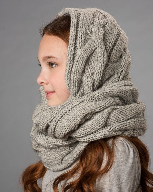 Какие шарфы для детей удобнее