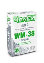 Клей теплоизоляционный цементный ЧелСИ WM-38
