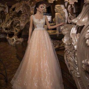 Свадебное платье. силуэт А,