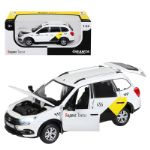 Машинка металлическая Яндекс Такси LADA GRANTA CROSS, масштаб 1:24 JB1251346