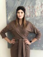 Платье с запахОМ MARUSYA Капучино PLZKAP1 PLZKAP1