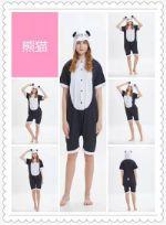 Летний пижамы кигуруми для взрослых Панда Y0128