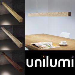 Unilumi — светильники из натурального дерева дуба