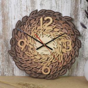 Часы настенные «Листья»