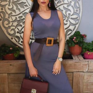 Мираслава Шведова - основатель марки в платье от Mira Seza