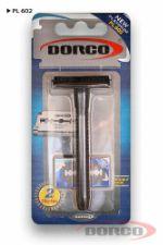 DORCO классический станок (+2 лезвия ) на блистере PL-602