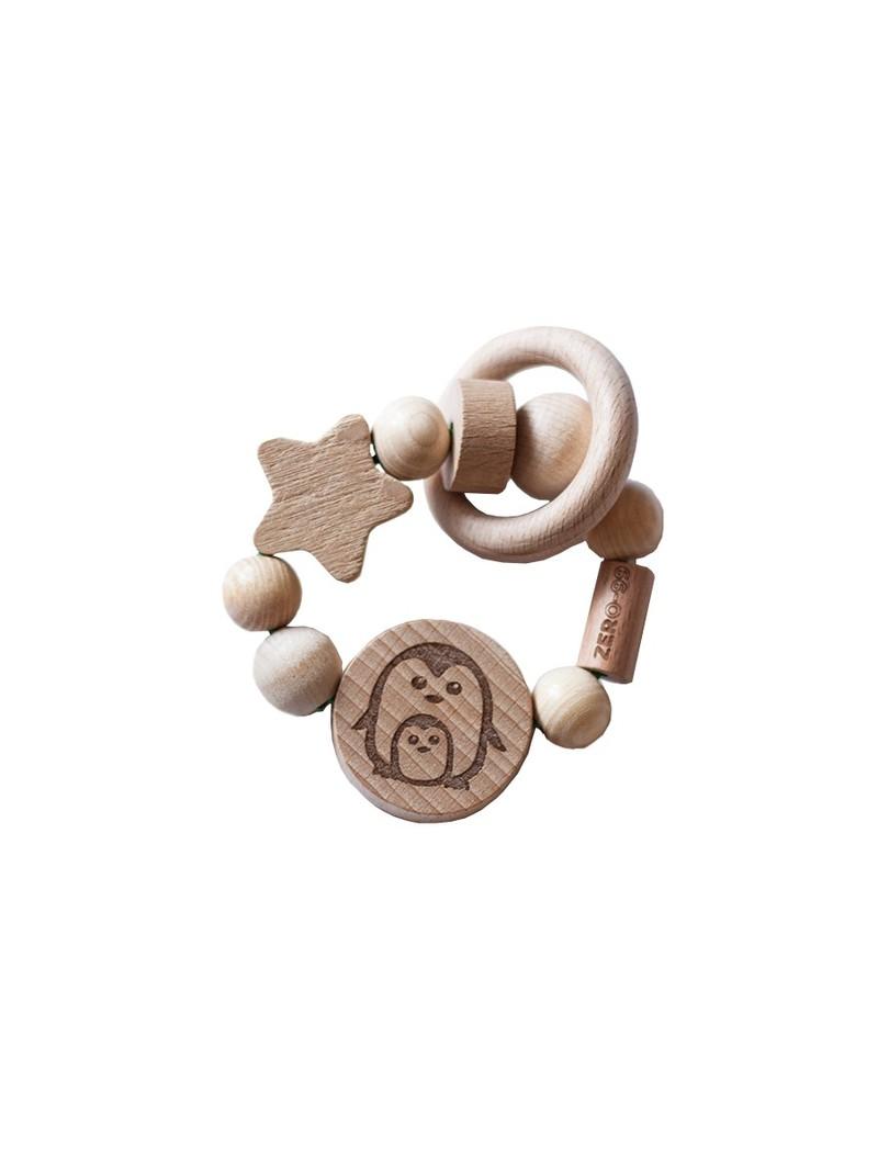 Игрушка из дерева для детей до 3-х лет - грызунок ZerO-99