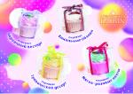 Бурлящие шары для ванн Laboratory KATRIN Шипучая соль для ванн пирожное 120г